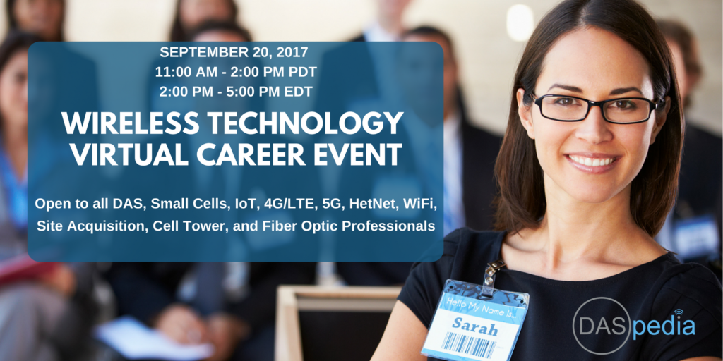 Wireless Tech Career Event by DASpedia